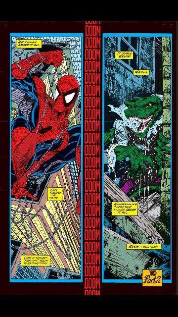 The Lizard - Spiderman #1 by Todd McFarlane
