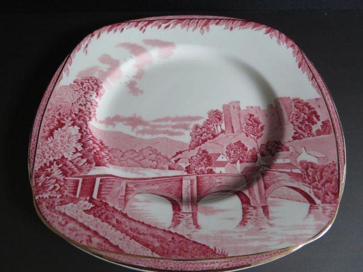 """Britan Beatiful"" Burleigh Ware plate"