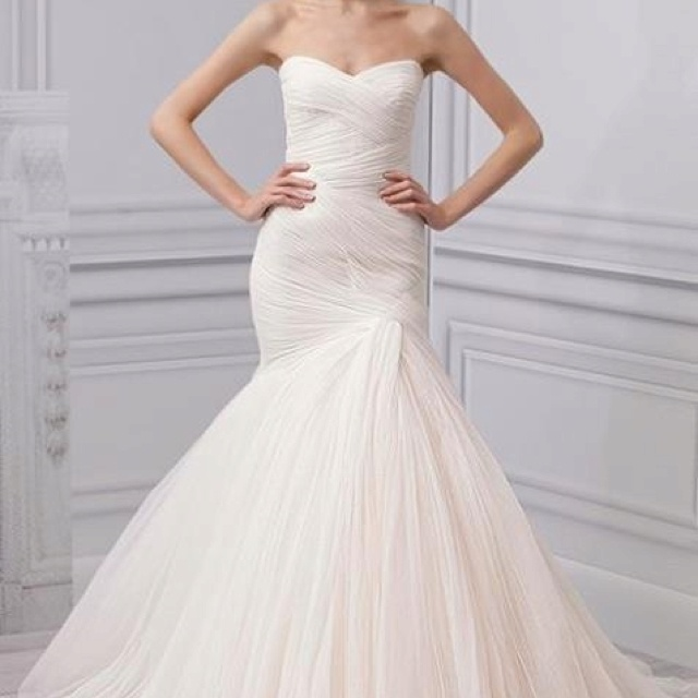 23 best images about monique lhuillier on pinterest fall for Wedding dress baton rouge