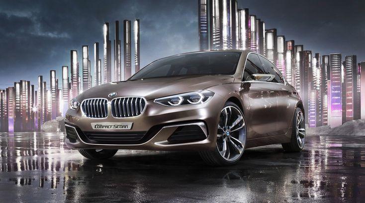 BMW 1 Serisi Concept Compact Sedan'dan ilk görünüm - http://www.webaraba.com/bmw-1-serisi-concept-compact-sedandan-ilk-gorunum/