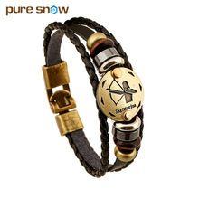 12 Zodiac Signs Bracelet for men and women  #bracelet #zodiacbracelet #leatherbracelet #zodiac #manjewelry #zodiacjewelry #zodiacsign #esoteric #aquarius #pisces #aries #taurus #gemini #cancer #leo #virgo #libra #scorpio #sagittarius #capricorn