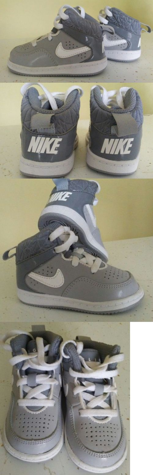 Baby Boy Shoes: Nike Flight Tennis Shoes Toddler Infant Baby Boys-Girls Size 4 Gray Sneakers BUY IT NOW ONLY: $12.99