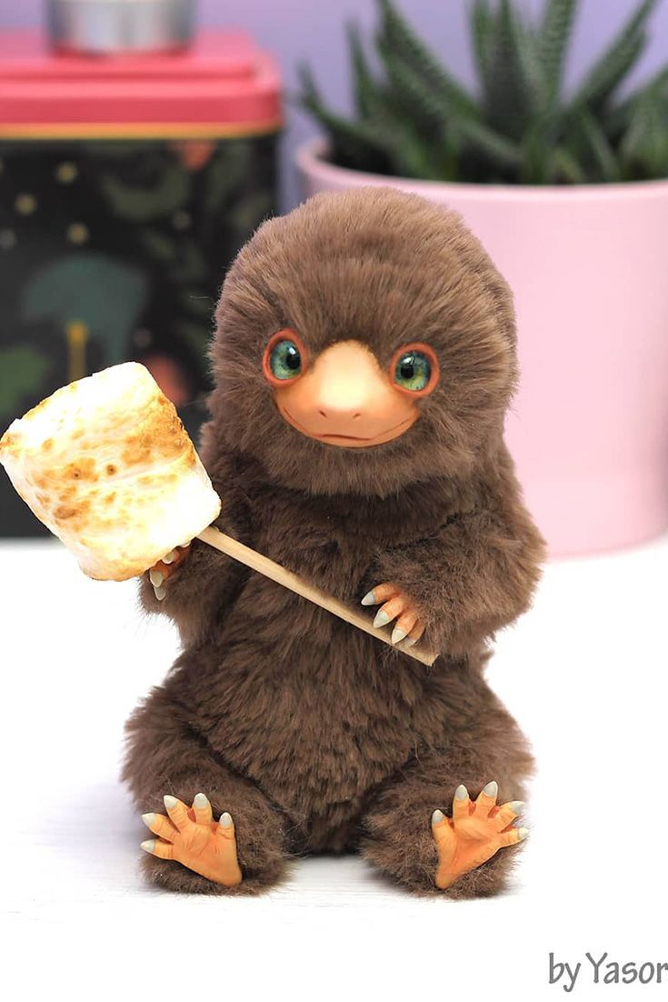 Niffler Baby Toy Plush Handmade Toys Harry Potter Gifts Art Toy