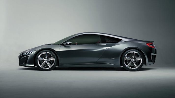 The new Honda NSX gets closer… - BBC Top Gear