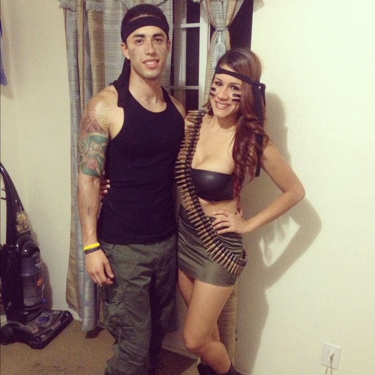 Rambo & army girl