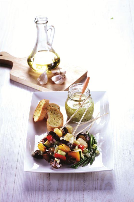 Sayur Panggang Saus Kiwi :: Roasted Vegetables with Kiwi Sauce