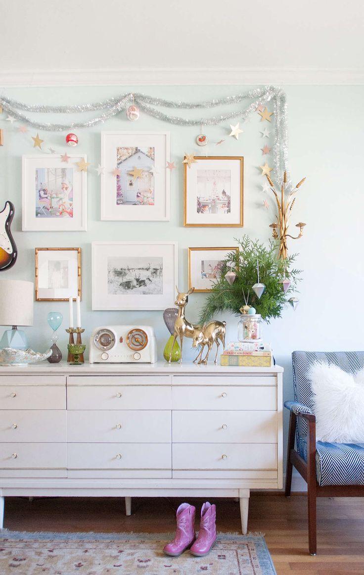 Unique tinsel garland ideas on pinterest christmas