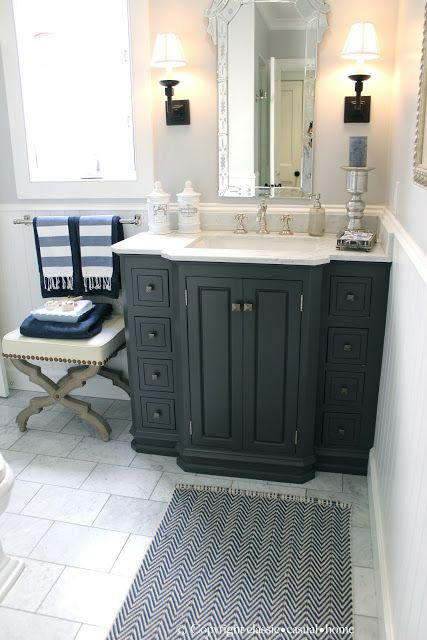 325 best bathroom ideas images on pinterest architecture for Casual bathroom ideas