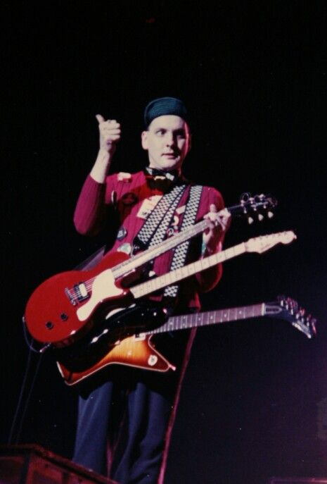 Rick Nielsen - Cheap Trick Please, Lord. Bring back the Hamer Guitar Company and those Hamer checkerboard straps. Amen.