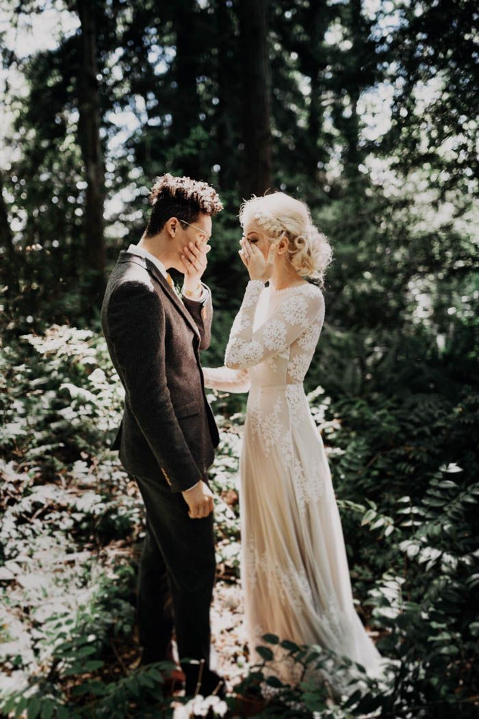 This free-spirited Sauvie Island wedding is so touching it might make your eyes sweat a little   Image by India Earl
