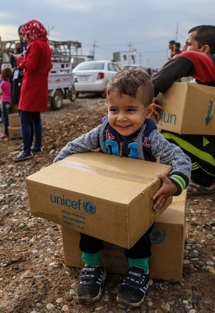 Here's the best gift you can give this Christmas.  Warm winter clothes for a child.    Help a Syrian child survive the cold by providing a set of warm winter clothing. Your  gift will kit out a vulnerable child with jackets, trousers, fleeces, boots or strong shoes, scarf and a hat.