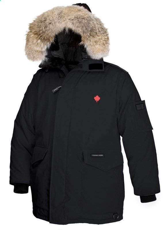 Canada Goose Heli Arctic Parka Black Men CAD338.31 www.downjacketche...