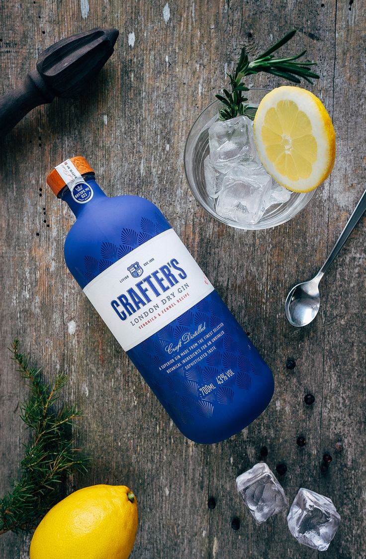 Crafters Gin — The Dieline - Branding & Packaging