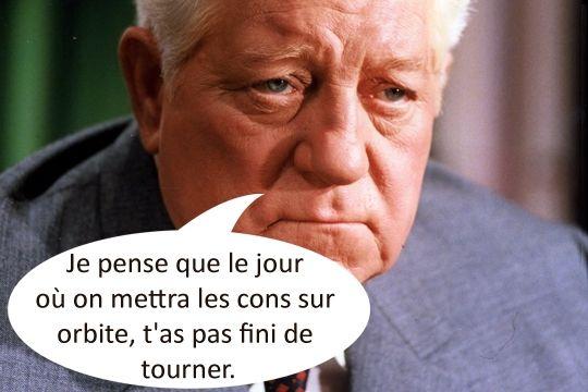 Jean Gabin dans Le Pacha