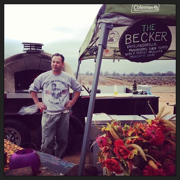 My dad's next business. Mobile pizza oven. #beckervineyard - @mrsjezell- #webstagram