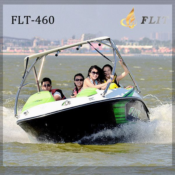 China CE jet boat for sale CF motor strong power small high speed fiberglass speed boat speedster $1~$30000