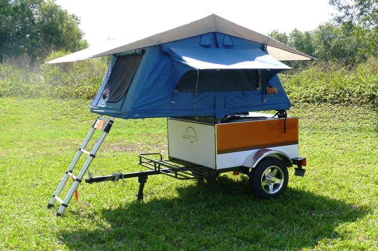 Motorcycle Pull Behind Camper Trailer At 395 Pounds This Camper Pull Nicely Behind A Bike Or Small Car And