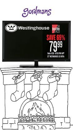 This item is always a Christmas favorite! Flat screen televisions for under $100! Check out our Black Friday ad online now!