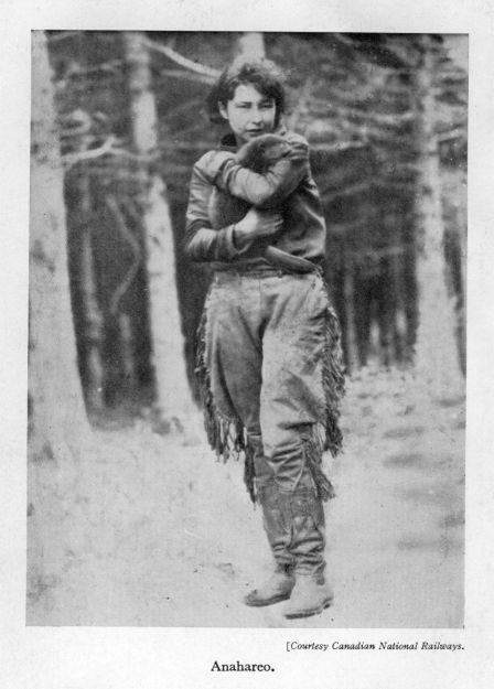 Gertrude Moltke Bernard, CM, also known as Anahareo, (June 18, 1906 – June 17, 1986) was a Mohawk writer, animal rights activist and conservationist. She is perhaps best known for influencing writer Grey Owl (born Archibald Belaney) to become one of Canada's first public conservationist campaigners.