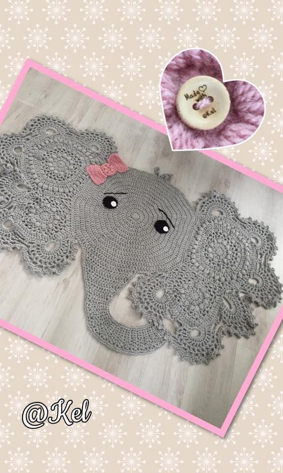Crochet Patterns Elephant Rug : Posts and Patterns on Pinterest