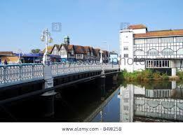 Taunton Town Bridge over River Tone, Bridge Street