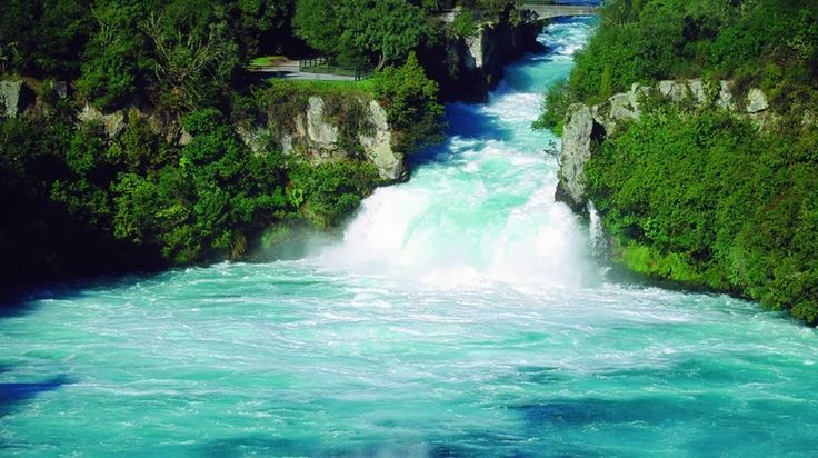 Huka Falls (near Lake Taupo) https://www.google.com/blank.html