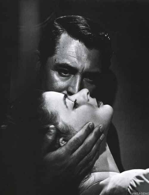 Cary Grant and Ingrid Bergman -- Notorious