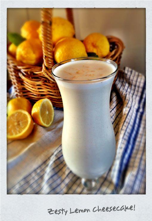 Lemon Cheesecake Smoothie