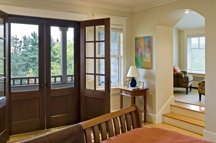 French doors on front of house bedroom victorian with sleigh bed wall art wall decor