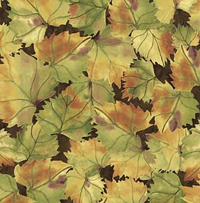 Packed Grapevine Leaves on Brown 4638-36: Packs Grapevine, Grapevine Leaves