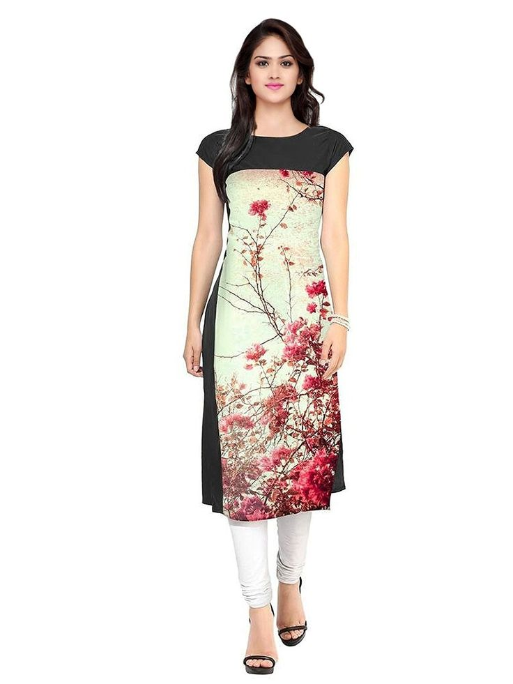 kurtis for women digital print kurti size-XXL: Amazon.in: Clothing & Accessories   Designer ...