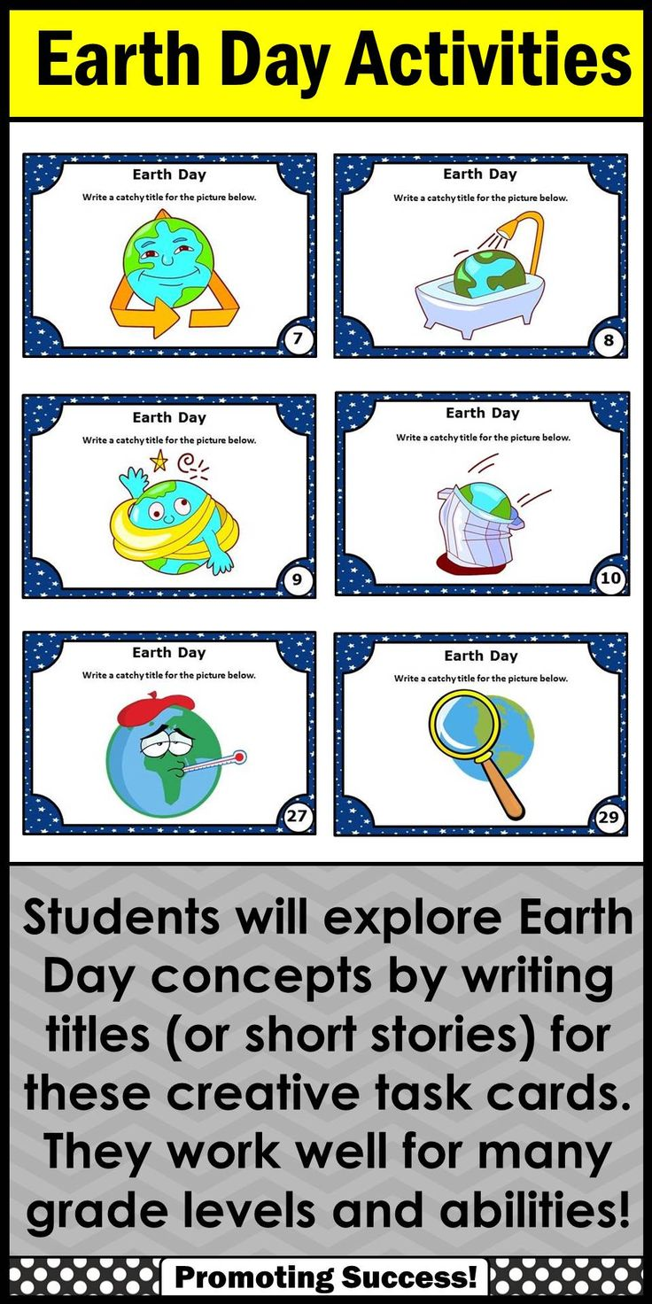 earth day writing Strengthen vocabulary with this earth day (april 22) word search this is a fun and educational way to celebrate the holiday that celebrates our environment.