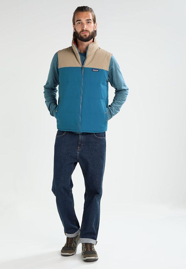 ¡Consigue este tipo de chaleco de Patagonia ahora! Haz clic para ver los detalles. Envíos gratis a toda España. Patagonia REVERSIBLE BIVY  Chaleco big sur blue: Patagonia REVERSIBLE BIVY  Chaleco big sur blue Deporte   | Material exterior: 100% poliéster | Deporte ¡Haz tu pedido   y disfruta de gastos de enví-o gratuitos! (chaleco, vest, waistcoat, waist coat, sleeveless jacket, gilet, vests, chaleco, weste, chaleco, gilet, gilet)