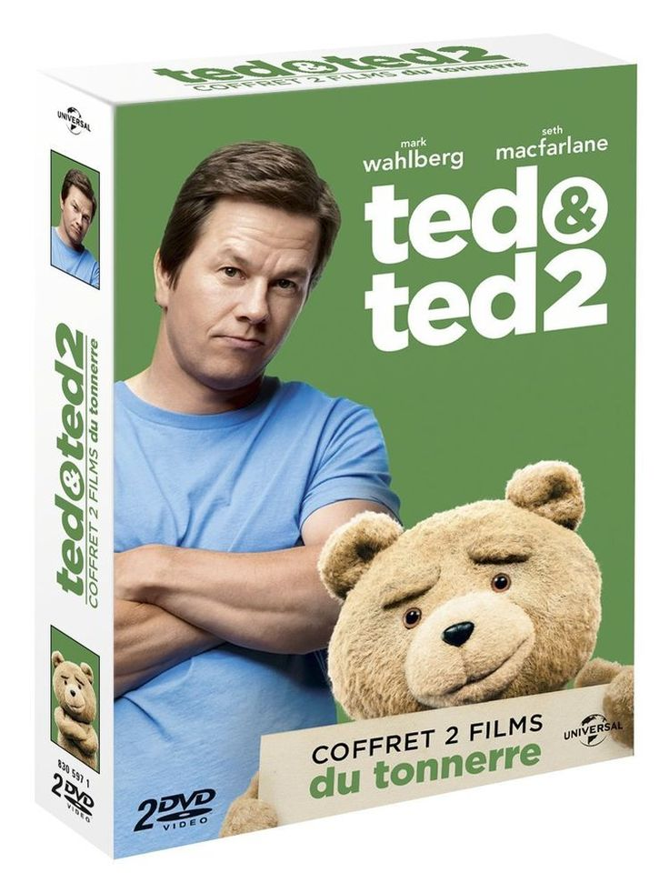 Ted & Ted 2 - DVD NEUF