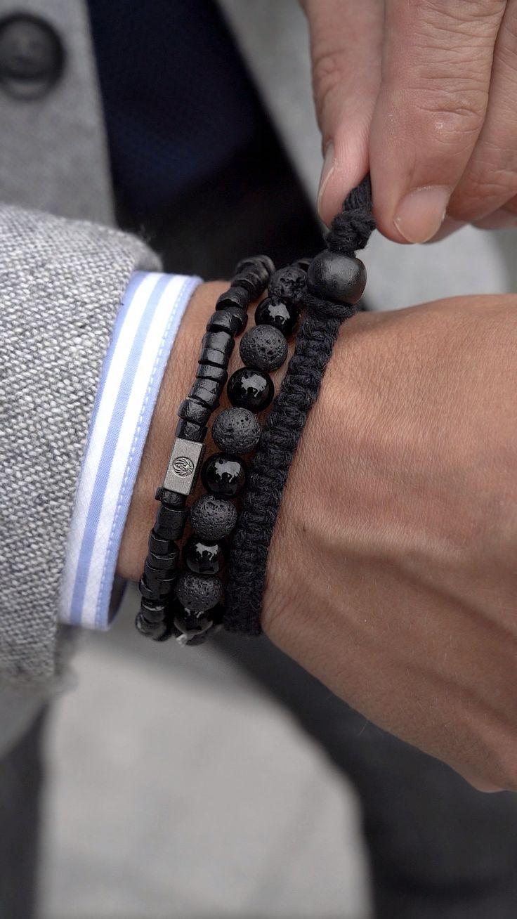 The Black on Black Bracelet – Frank Geißler