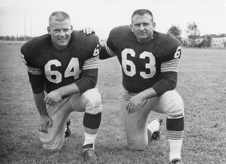 Jerry Kramer and Fuzzy Thurston
