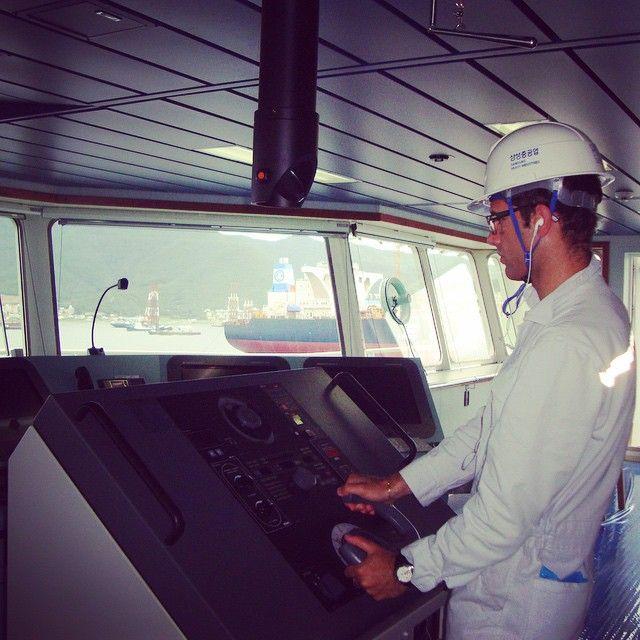 #Fontvieille Ai comandi di una bestia di 250metri⚓️ #lavoro #navigazione #nave #cantiere #altimone #aicomondi #bellavita #korea #samsungshipyard #geoje #samsung by pierpaolobdc from #Montecarlo #Monaco