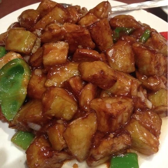 Афигительные баклажаны!!!!!! Вкуснее не ела))) - Баклажаны в чесночном соусе@Дружба via www.dish.fm