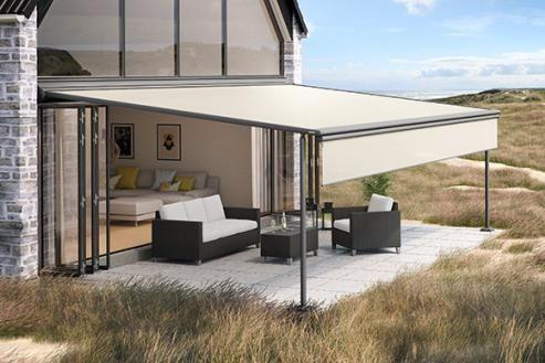 die 25 besten ideen zu sonnenschutz markisen auf pinterest terrassenmarkisen sonnensegel. Black Bedroom Furniture Sets. Home Design Ideas