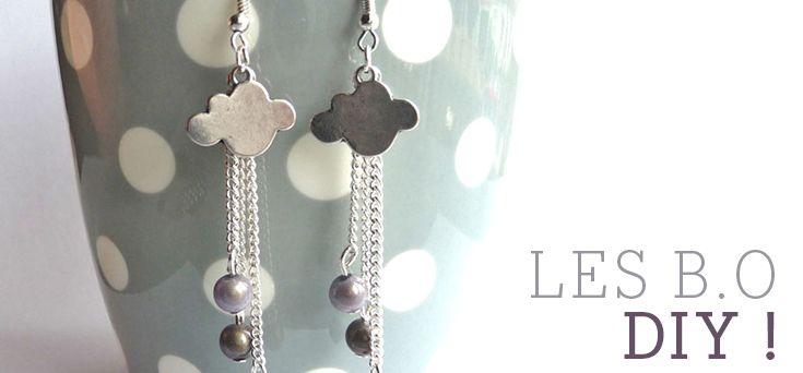 DIY : Les boucles d'oreilles nuage de Sophie - DaWanda Blog - People and Products with Love