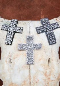 White Label NOBA beaded-crosses