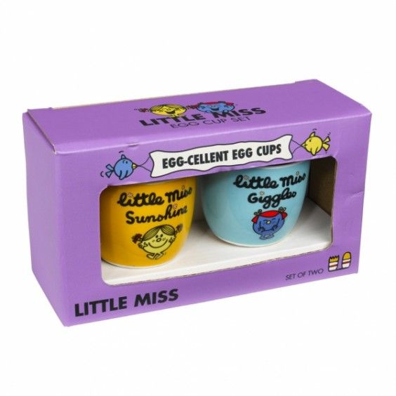 Mr Men Egg Cup Set - Little Miss