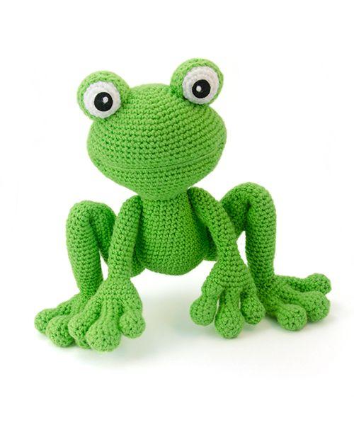 Amigurumi Crochet Frog : Kirk the frog amigurumi pattern by Lisa Jestes Crochet ...