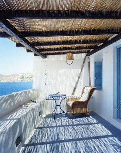 Greek island serenity
