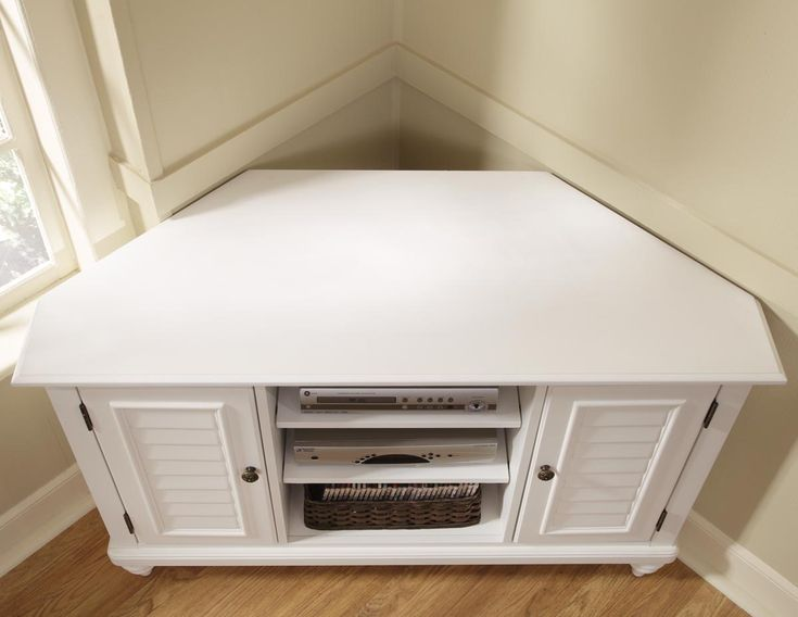 Corner Tv Cabinet White Wood