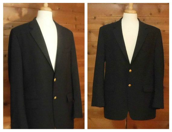 Vintage RALPH LAUREN Coat Mens Wool Coat by OpenMarketVintage #Menswear #Fashion #WoolCoat #MensWoolJacket #RalphLaurenCoat #LaurenJacket #BusinessCoat #ChapsCoat #MensVintageCoats