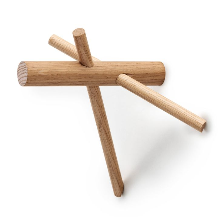 Sticks krok 2-pack, Natur - Benoît Deneufbourg - Normann Copenhagen - RoyalDesign.se