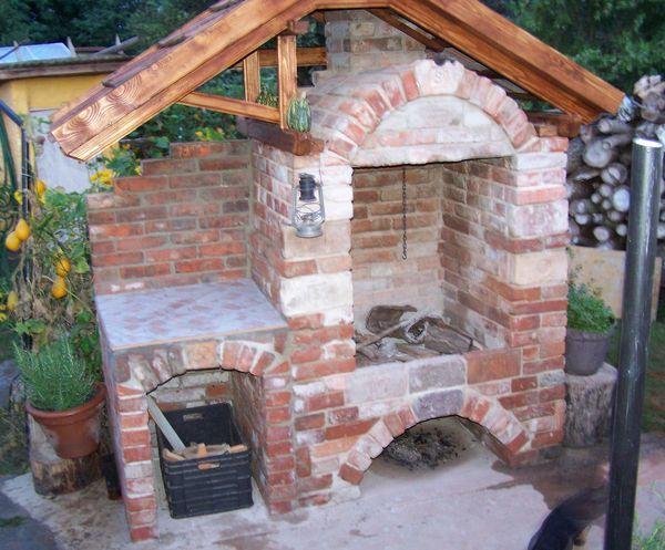 kerti sütő építés házilag