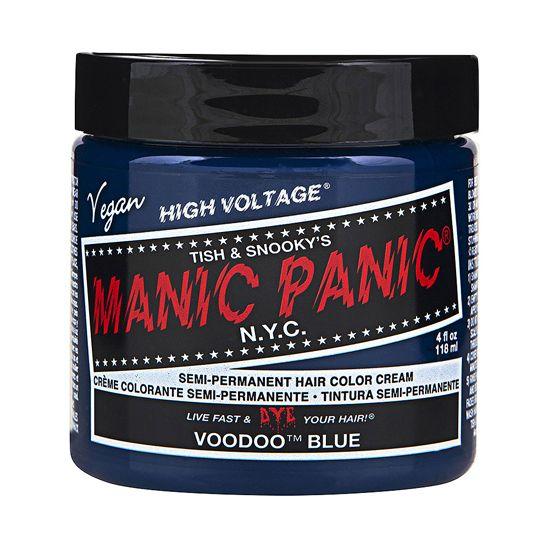 Manic Panic High Voltage Cream Hair Color Voodoo Blue 4oz