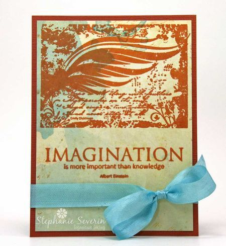 Stephanie Severin - Ingenious Inkling Wing Composition Time to Dream Crafter's Companion